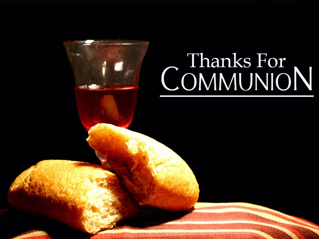 Thank You For Communion