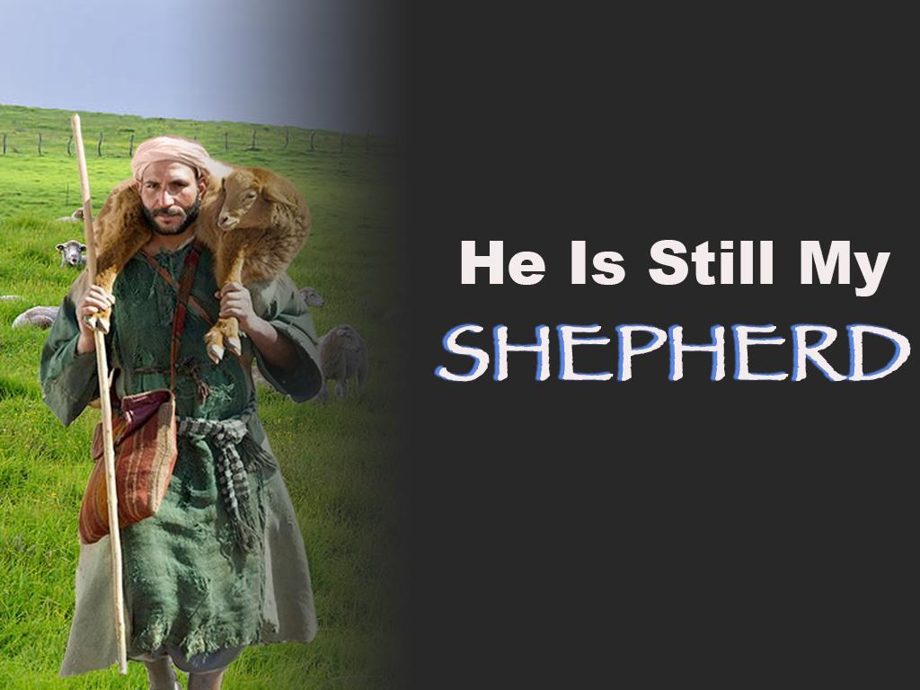 He is still My Shepherd